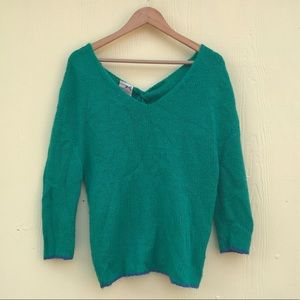 Tommy Hilfiger Knit Sweater in Green Size M